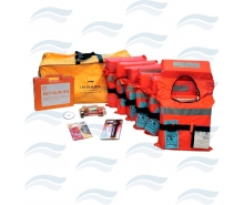 Safety Kits with Approved life vests for Nautica