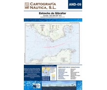 Andalucia Letters nautical charts