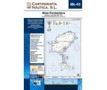 Baleares Letters nautical charts