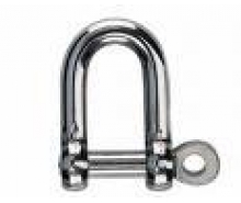 Inox Straight Shackles