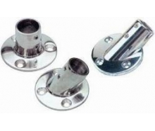 Flagpole sockets for flagpoles