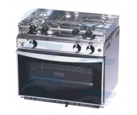 ENO Inox Gas Cooker + Grill