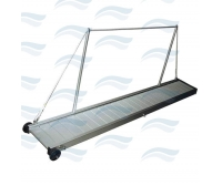 Aluminum Fixed Gangway 190 cm With Handrails