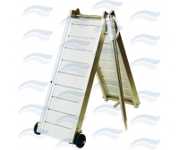 Aluminum Folding Gangway 200 cm With Handrails
