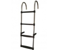 Ocean Bay Usa Fixed Stainless Steel Ladder 4p