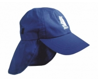Cap with neck protector