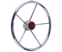 Steering Wheel  380 mm Inox Seachoice