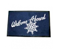"Alfombra ""Welcome Aboard"" 46x69 Seachoice"