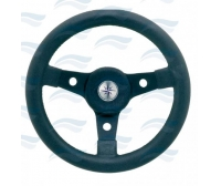 Luisi 50th Delfino 310 mm Black Steering Wheel Boat