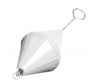 Nuova Rade 66cm White Mooring Buoy Bi-Conical With Ring