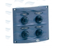 Panel Hella 4 Interruptores  95x107 mm.