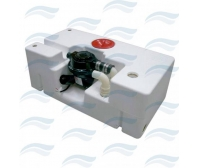 Sewage Tank 90 L With Pumps 12 v
