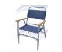Blue Folding Canvas Chair