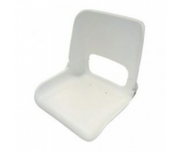 Skipper Seat 400x480x500mm White Polyethylene