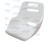 Asiento Admiral 435x490x500mm Polietileno Blanco