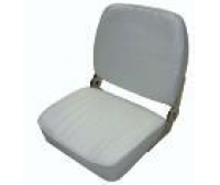 Seat 400x510x380mm White Semi-Leather
