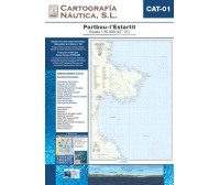 Carta Nautica CAT-01 Portbou-l'Estartit