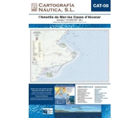 Carta Nautica CAT-08 l'Ametlla de Mar-les Cases d'Alcanar