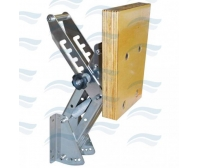 Imnasa Inox Outboard Bracket For Engine 23 Kg Wood-5 Adjustment
