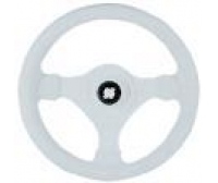 Steering wheel V 45 white