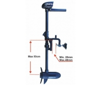 Haswing 20 Lb 23.6¨ Black Electric Outboard Motor