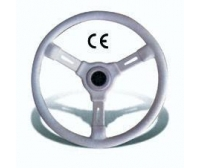 Riviera 350 mm White Classic Steering Wheel Boat