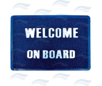 "Alfombra ""Welcome On board"" 40x60"