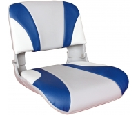 Luxe Boat Seat 50X46X48 cm White/Blue