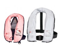Hello Kitty Pink 150 Nw +40 Kg child inflatable lifejacket