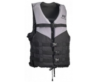 Jacket Aquatic Sports Ski-Passion 50-70 kg Gray/Black Plastimo