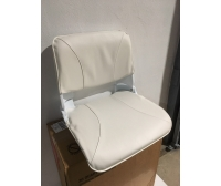 Skipper Seat 50X46X48 cm White Semi-Leather