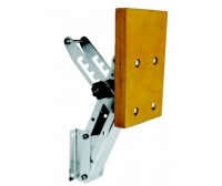 Lalizas Inox Outboard Bracket For Engine 50 Kg-Wood-5 Adjustment