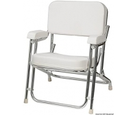 Osculati Captain Aluminum Anodized Chair Grand Comfort