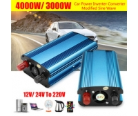 Convertidor Power Inverter 4000W-12 V a 220 V