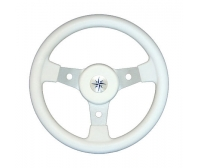 Luisi 50th Delfino 310 mm White Steering Wheel Boat
