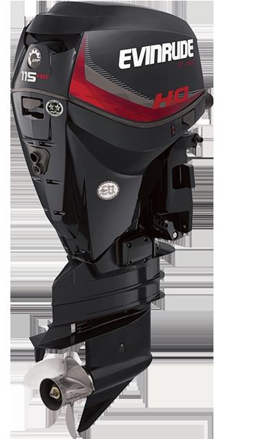 Evinrude ETEC 115 H O  GHL Grafito Outboard Motor